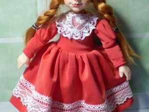 Одежда для авторских кукол на заказ. | Ярмарка Мастеров - ручная работа, handmade