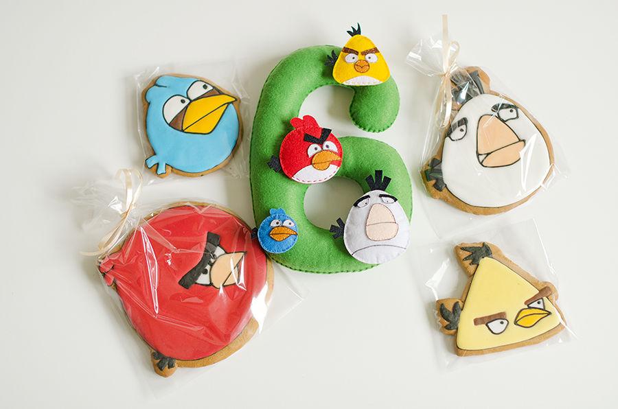 подарочная коробка, angry birds, герои мультфильмов, имбирные пряники, подарок на любой случай, подарок на новый год, пряники расписные