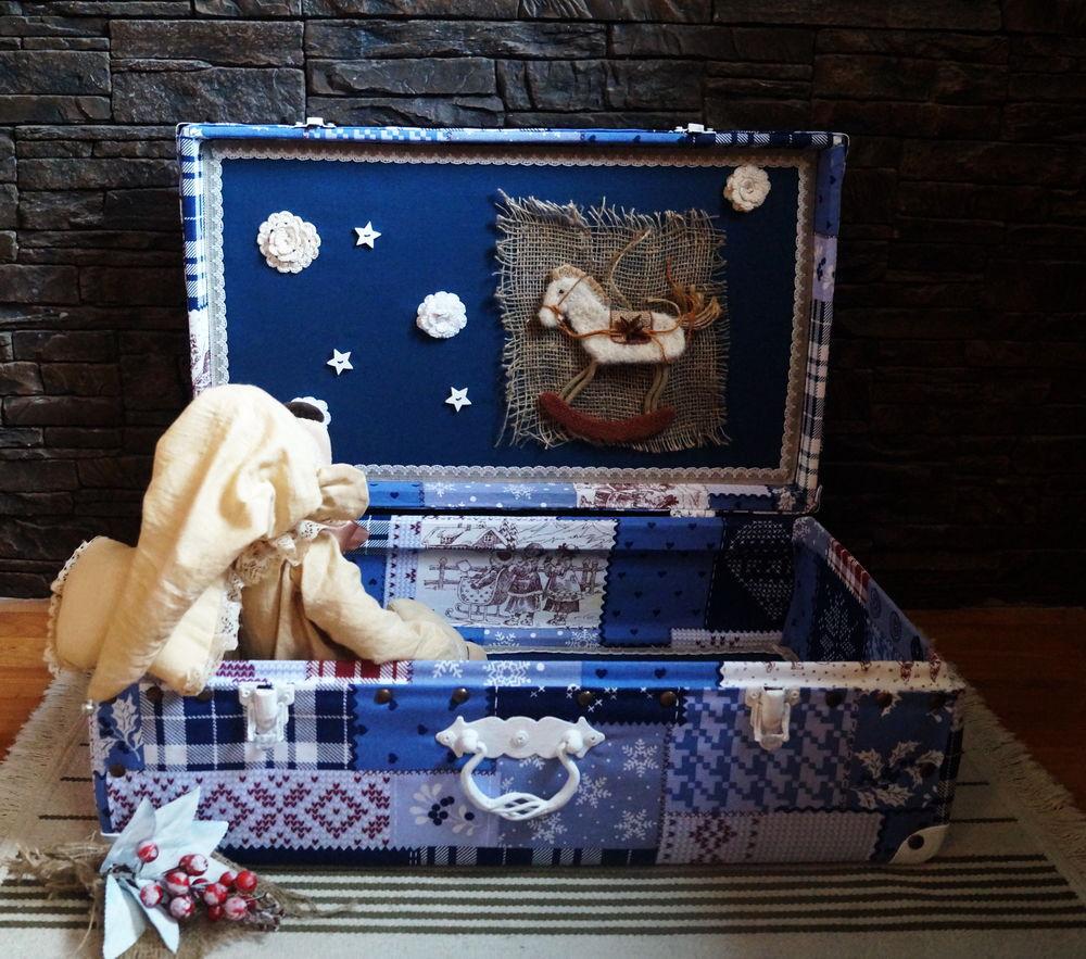 чемодан для кукол, авторская работа