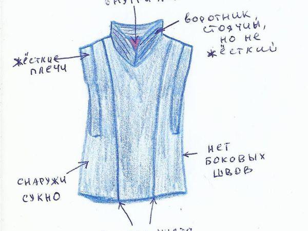 Жилетка   Ярмарка Мастеров - ручная работа, handmade