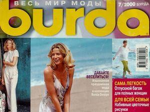 Парад моделей Burda Moden № 7/2000. Ярмарка Мастеров - ручная работа, handmade.