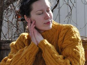 Новые свитера из серии «Прогулка по заброшенному саду». Ярмарка Мастеров - ручная работа, handmade.