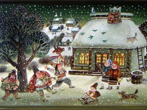 Коллекция со святочной Козой. Ярмарка Мастеров - ручная работа, handmade.