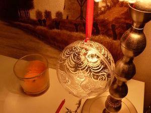 Как расписать новогодний шарик. Ярмарка Мастеров - ручная работа, handmade.