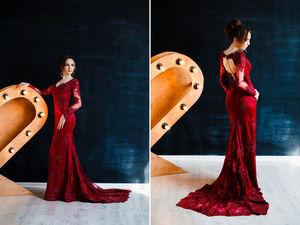 Продается шикарное платье по доступной цене!. Ярмарка Мастеров - ручная работа, handmade.