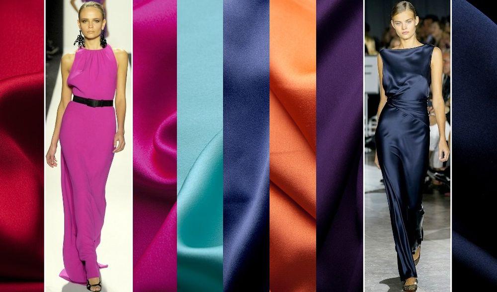 шёлк, шелк-стретч, вечернее платье, ткани из италии, ткани для шитья, ткани для одежды, ткани вечерние, натуральный шёлк, шелк для платья, плательные ткани