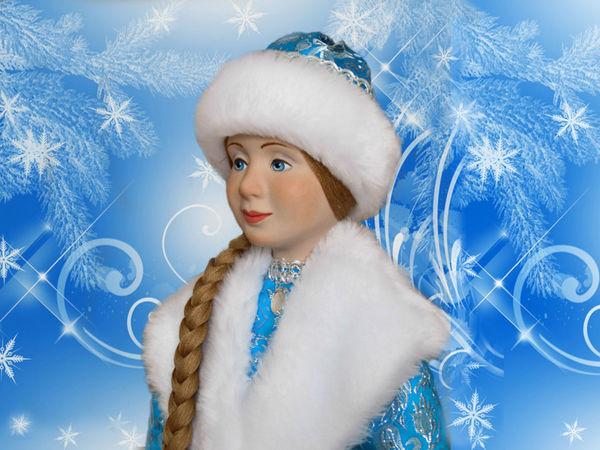 Новые куклы к Новому 2017 году | Ярмарка Мастеров - ручная работа, handmade