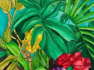 Индийский сад. Ярмарка Мастеров - ручная работа, handmade.