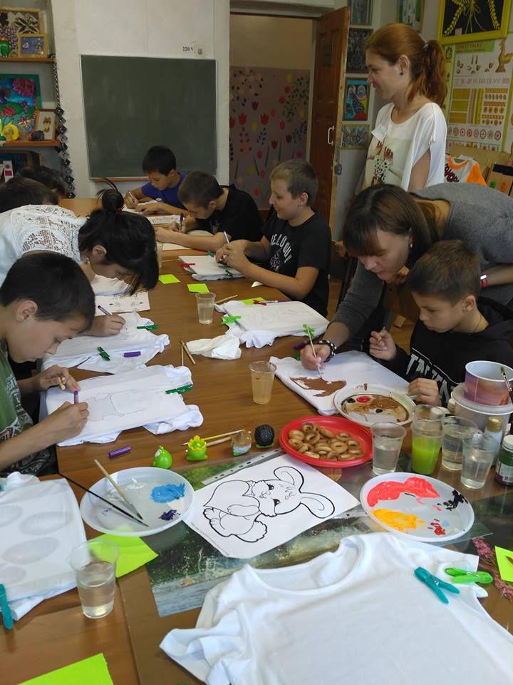 Мастер-класс в детском доме, фото № 1