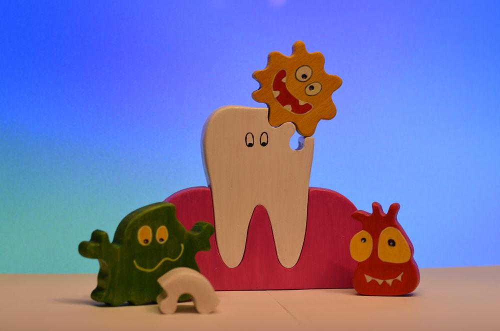 микробы игрушка