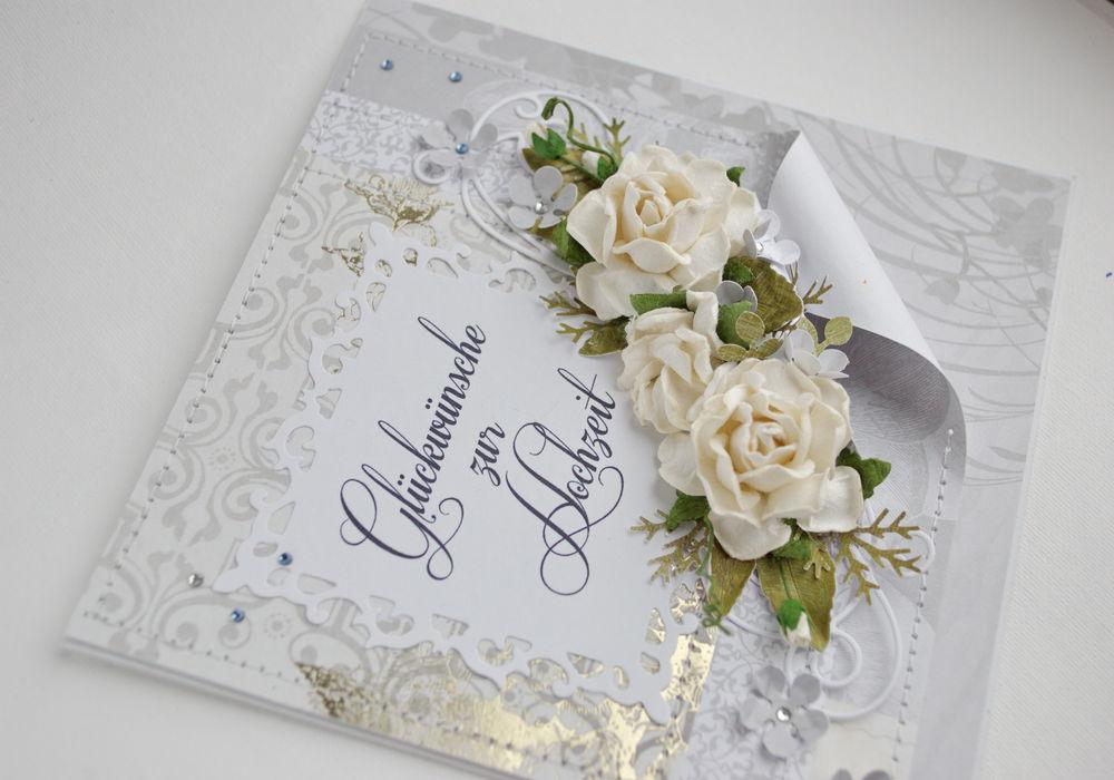 свадьба, открытка ручной работы