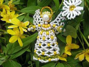 Ромашковый ангел для Юлии   Ярмарка Мастеров - ручная работа, handmade