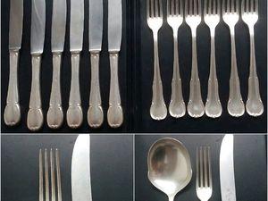Скидки на столовые приборы серебрение. Ярмарка Мастеров - ручная работа, handmade.