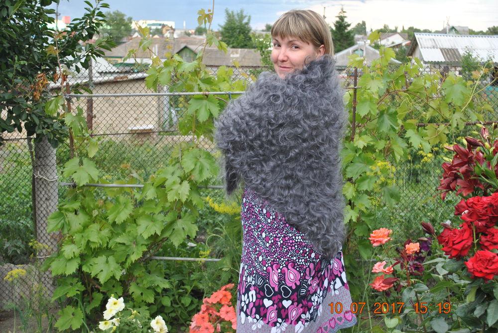 пух, пуховая косынка, теплые вещи, ручная вязка, ручная работа купить, одежда для женщин, авторская работа