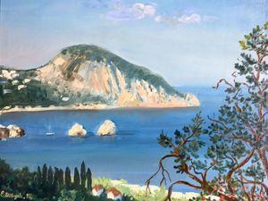 Только два дня! На 1000 р дешевле — крымский пейзаж. Ярмарка Мастеров - ручная работа, handmade.