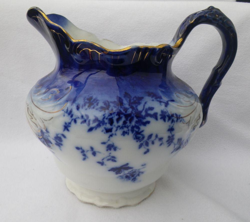 Flow blue — антикварная красота из Англии, фото № 33
