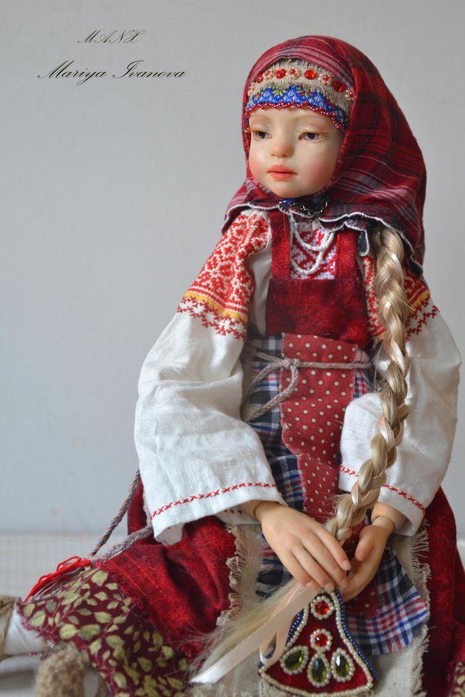 кукла в русском стиле, славянка