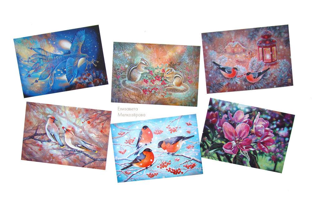 почтовая открытка почта, темно-синий синий, брусника цветы цветение