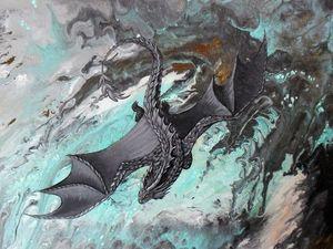 Презентация новой картины с драконом! + Предложение. Ярмарка Мастеров - ручная работа, handmade.