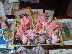 Выставка-ярмарка  «Елкин базар». Ярмарка Мастеров - ручная работа, handmade.