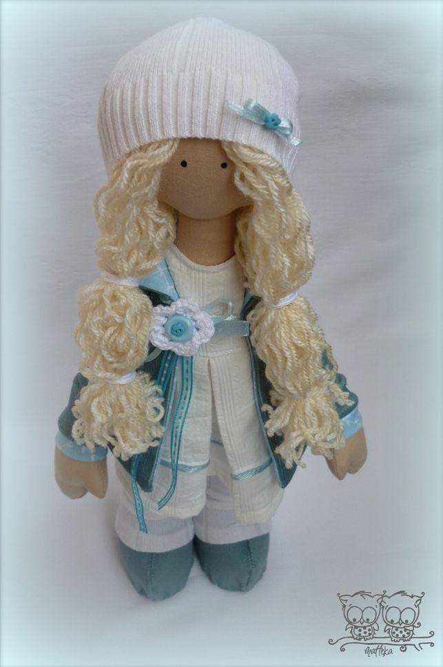текстильная кукла, хорошее настроение