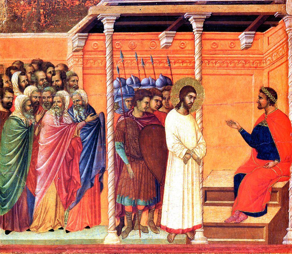 выборе картинки хорошего разрешения иисус перед пилатом процедить, мясо снять