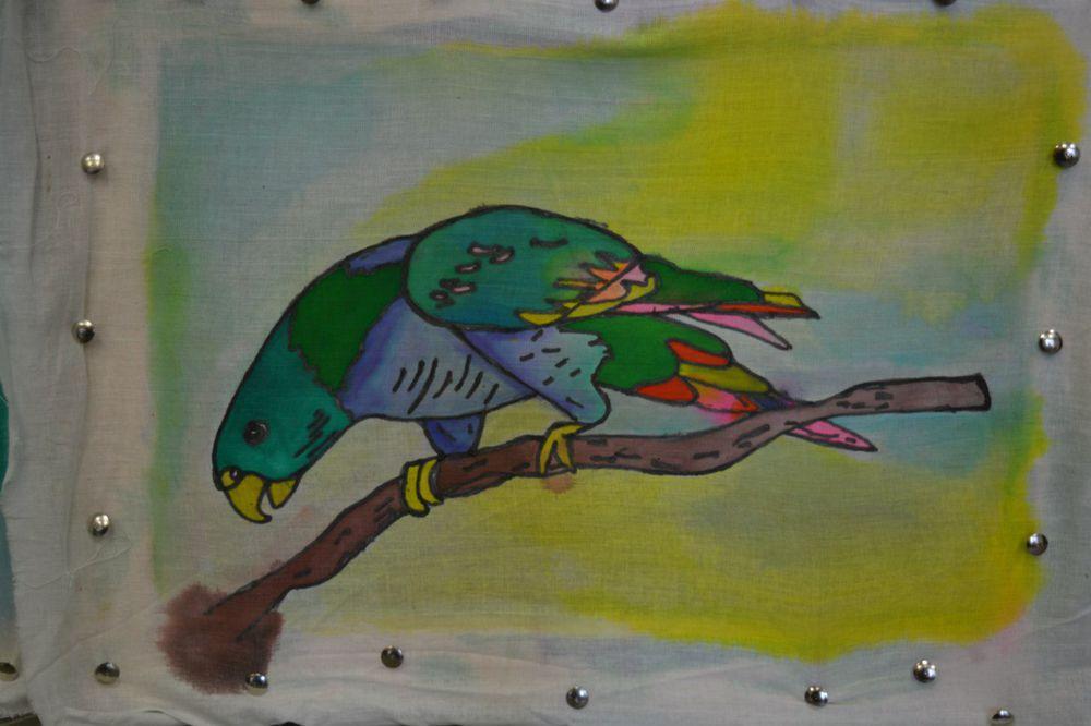 Мастер-класс по холодному батику (росписи по ткани)., фото № 4