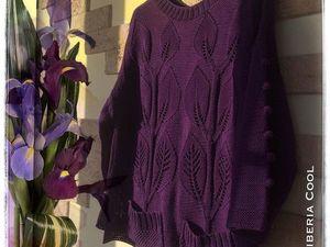 Скидка на хлопковый свитер Лианы | Ярмарка Мастеров - ручная работа, handmade