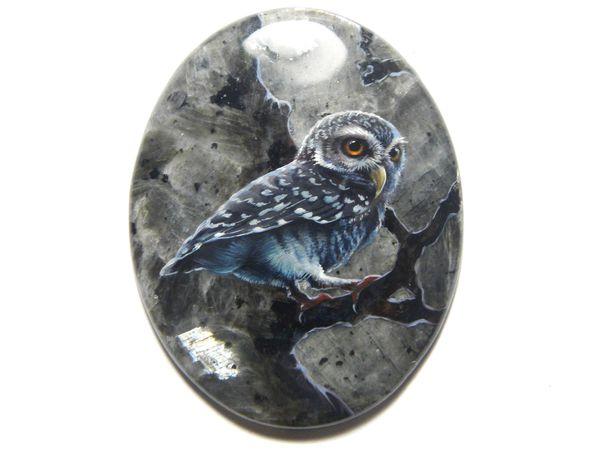 Аукцион: сова на спектролите | Ярмарка Мастеров - ручная работа, handmade