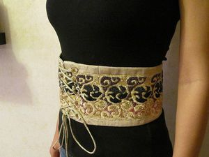 15+ Gorgeous Embroidered Belts: Luxurious Accessories for Any Outfit. Livemaster - handmade