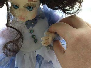 Новая куколка Дуся и ее верный пес Бим. Ярмарка Мастеров - ручная работа, handmade.
