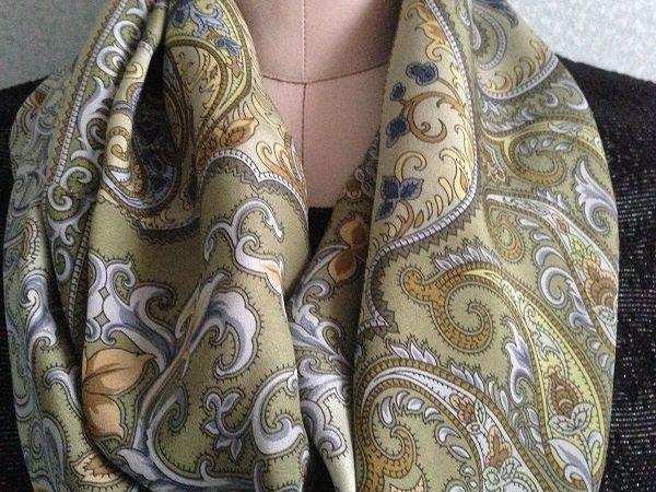 Сегодня скидка 500 рублей на все шелковые шарфы-снуды!!!   Ярмарка Мастеров - ручная работа, handmade