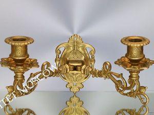 Подсвечник рояльный бронза латунь Германия 12. Ярмарка Мастеров - ручная работа, handmade.
