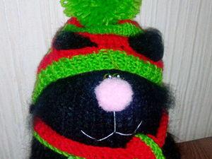 Новогодний котик в хорошие руки с хорошей скидкой!. Ярмарка Мастеров - ручная работа, handmade.