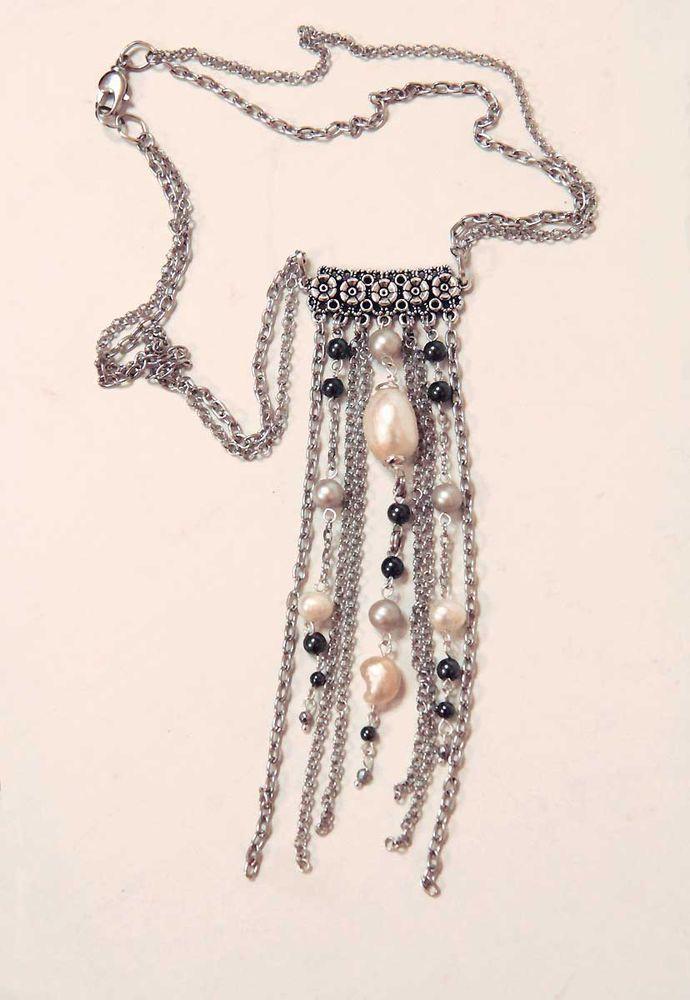Авторские украшения из жемчуга и натуральных камней своими руками, фото № 19