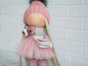 Онлайн-курс по созданию текстильной куклы | Ярмарка Мастеров - ручная работа, handmade