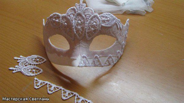 Как сделать новогоднюю маску своими руками мастер класс