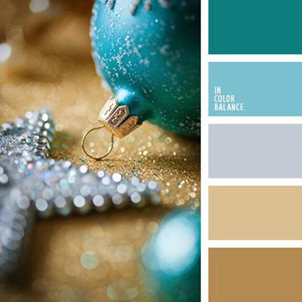 Какие цвета новый год использовать
