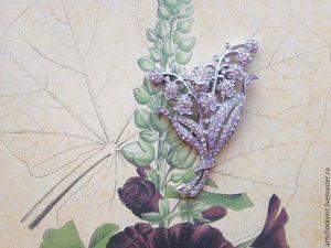 Ландыш Трифари | Ярмарка Мастеров - ручная работа, handmade