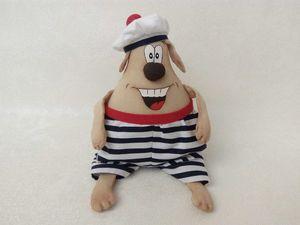 Шьем веселую собачку — символ Нового года | Ярмарка Мастеров - ручная работа, handmade