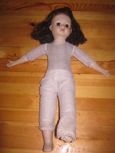 Пошив тела для фарфоровой куклы