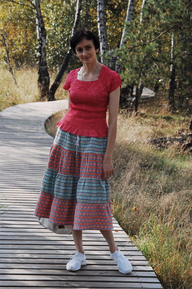 жаккардовая юбка, нарядная юбка, купить ткани в москве