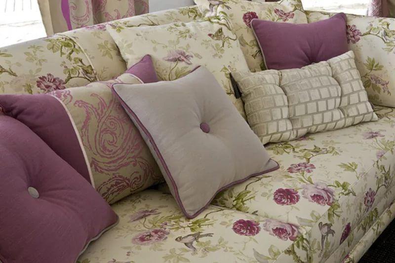 подушки в интерьере