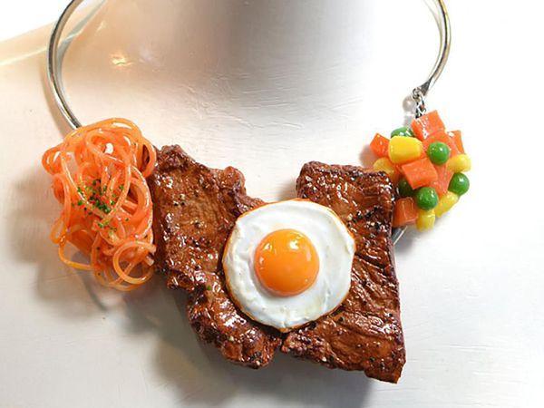 Украшения от японского дизайнера Norihito Hatanaka — не для тех, кто на диете   Ярмарка Мастеров - ручная работа, handmade