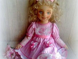 Моя куколка Анечка запела!. Ярмарка Мастеров - ручная работа, handmade.