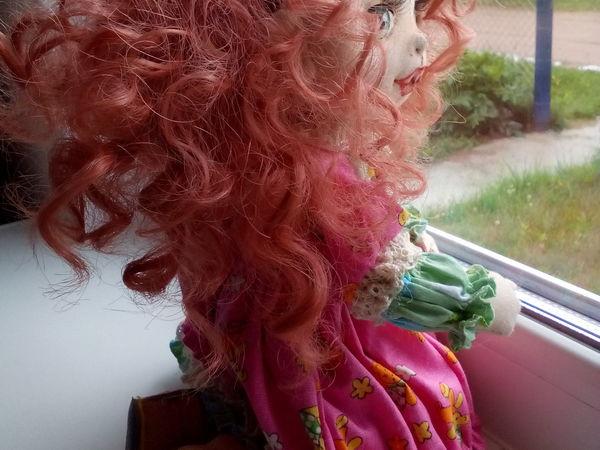 История моей куколки или Приключение нового колобка | Ярмарка Мастеров - ручная работа, handmade