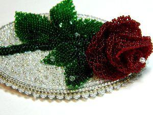 ЗАКРЫТА. Акция выходного дня! Скидка на зимнюю розу ! | Ярмарка Мастеров - ручная работа, handmade