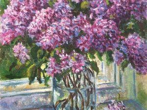 Сирень напомнит о весне!. Ярмарка Мастеров - ручная работа, handmade.