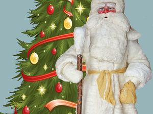 Реставрируем подставочного Деда Мороза. Ярмарка Мастеров - ручная работа, handmade.