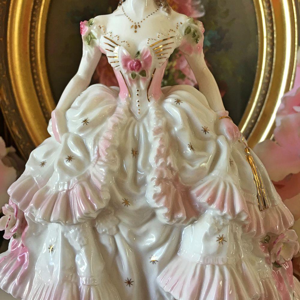royal worcester статуэтка, викторианский стиль